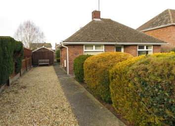 Thumbnail 2 bed detached bungalow for sale in New Road, Ryhall, Stamford