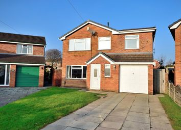 Thumbnail 4 bed detached house for sale in Cypress Close, Woolston, Warrington