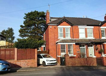 Thumbnail 5 bed semi-detached house for sale in Station Road, Caerleon, Newport