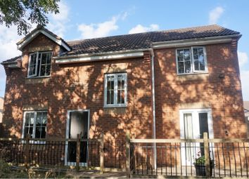 Thumbnail 4 bed detached house for sale in Leicester Close, Corby