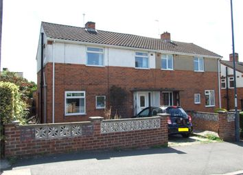 Thumbnail 3 bed semi-detached house for sale in Borrowfield Road, Spondon, Derby