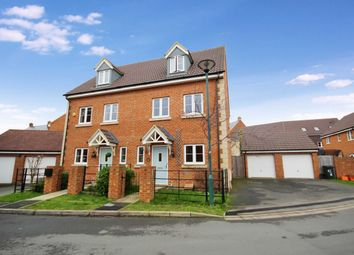 Thumbnail 3 bed semi-detached house to rent in Henchard Crescent, Taw Hill, Swindon