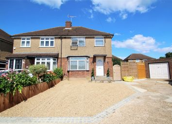 Thumbnail 3 bed semi-detached house for sale in The Furrows, Harefield, Uxbridge