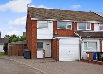 Thumbnail 3 bed end terrace house to rent in Whitehouse Crescent, Burntwood