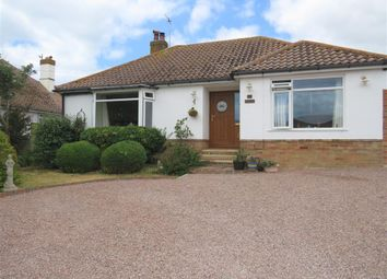 Thumbnail 3 bed detached bungalow for sale in Highview Road, Telscombe Cliffs, Peacehaven