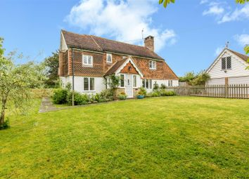 Thumbnail 4 bed detached house for sale in Hever Lane, Hever, Edenbridge