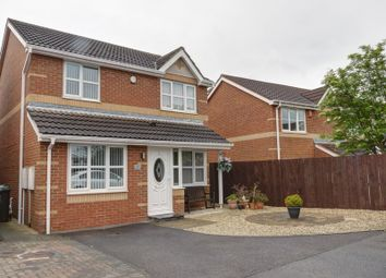 Thumbnail 3 bedroom detached house for sale in Melkington Court, Westerhope, Newcastle Upon Tyne