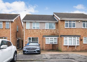 Thumbnail 4 bed semi-detached house to rent in Courage Close, Hornchurch