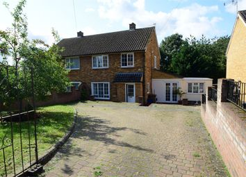 Thumbnail 4 bed semi-detached house for sale in Turpins Rise, Broadwater, Stevenage, Hertfordshire