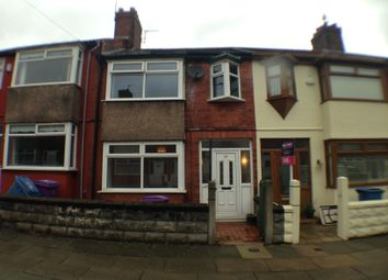 Thumbnail 4 bedroom terraced house for sale in Rossall Road, Old Swan, Liverpool
