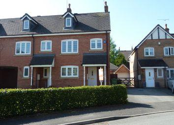 Thumbnail 3 bed town house for sale in Lister Grove, Blythe Bridge, Stoke-On-Trent