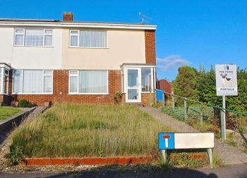 Thumbnail 3 bed semi-detached house for sale in Wykeham Close, Canford Heath, Poole BH17.