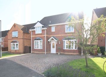 Thumbnail 4 bed detached house for sale in Paxton Close, Newton Aycliffe