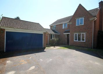 Thumbnail 4 bed detached house to rent in Somes Close, Uffington, Lincs