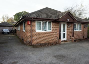 Thumbnail 4 bed detached bungalow for sale in Fernhill Road, Farnborough