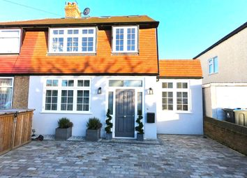 Thumbnail Semi-detached house to rent in Fircroft Road, Chessington