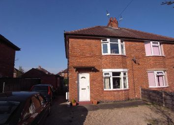 2 bed semi-detached house to rent in Gower Road, York YO24