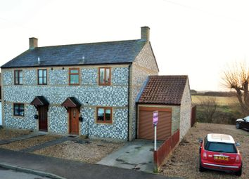 Thumbnail 3 bedroom semi-detached house for sale in Mill Corner, Soham, Ely