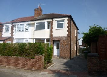 Thumbnail 3 bed semi-detached house to rent in Harrow Grove, Bromborough, Wirral
