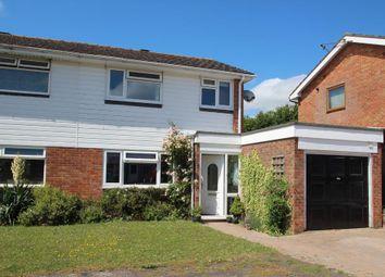 Thumbnail 3 bed semi-detached house for sale in Tamar Drive, Oakley, Hants