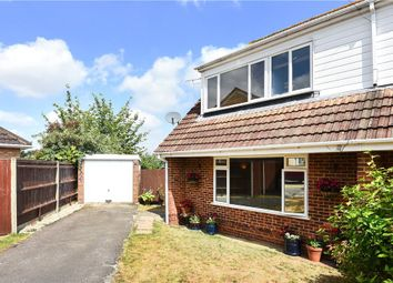 Thumbnail 4 bed semi-detached house for sale in Hilltop View, Yateley, Hampshire