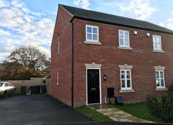 Thumbnail Semi-detached house to rent in Ryelands Crescent, Stoke Golding, Nuneaton