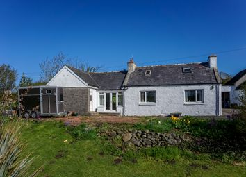 Thumbnail 2 bed cottage for sale in West Cairngarroch Croft, Stoneykirk, Stranraer