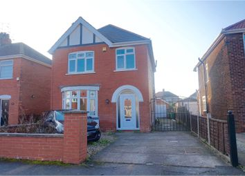 Thumbnail 3 bed detached house for sale in Peveril Avenue, Scunthorpe