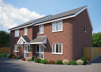 Thumbnail 3 bed semi-detached house for sale in Barnes Crescent, Wimborne