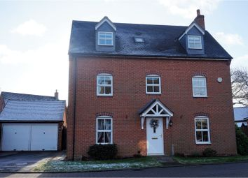 Thumbnail 5 bedroom detached house for sale in Orchid Close, Desborough