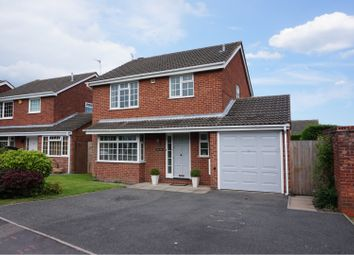 Thumbnail 3 bed detached house for sale in Marlborough Way, Ashby-De-La-Zouch
