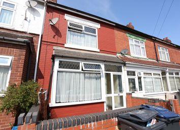 Thumbnail 3 bedroom terraced house for sale in Monk Road, Saltley, Birmingham