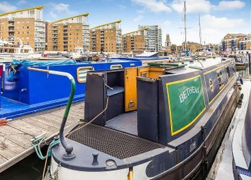 Thumbnail 1 bedroom houseboat for sale in Limehouse Basin Marina, Limehouse