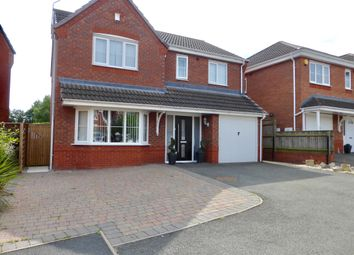 Thumbnail 4 bed property to rent in The Meadows, Cannock