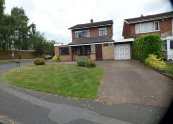 Thumbnail 3 bed detached house for sale in Leigh Road, Walsall, West Midlands