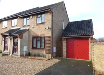 Thumbnail 3 bedroom semi-detached house for sale in Hoylake Drive, Farcet, Peterborough