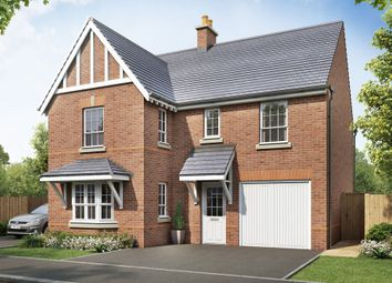 "Thumbnail 4 bed detached house for sale in ""Halstead"" at Beggars Lane, Leicester Forest East, Leicester"