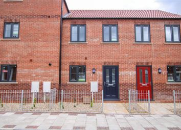 Thumbnail 2 bed terraced house for sale in Wesley Court, Union Street, Market Rasen