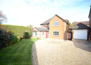 Thumbnail 4 bed detached house for sale in Chaffinch Close, Tilehurst, Reading