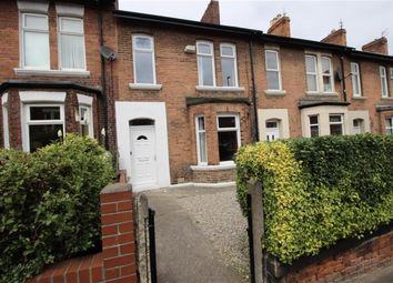 Thumbnail 4 bedroom terraced house to rent in Meldon Terrace, Heaton, Newcastle Upon Tyne