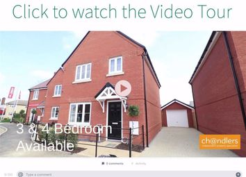 Thumbnail 4 bed detached house for sale in Jubilee Close, Blunham, Bedford