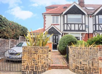 Thumbnail 4 bed semi-detached house for sale in Ridgeway Avenue, Gravesend