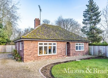 Thumbnail 2 bed detached bungalow for sale in Norwich Road, Wroxham, Norwich
