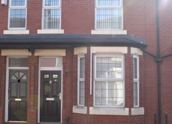 Thumbnail 3 bed terraced house to rent in Gainsborough Road, Manchester