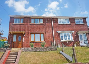 Thumbnail 3 bed semi-detached house for sale in Aneurin Avenue, Fairview, Blackwood