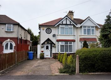 Thumbnail 3 bed semi-detached house for sale in Grasmere Crescent, Sinfin