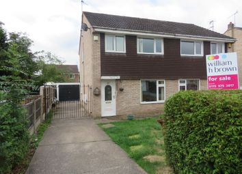 Thumbnail 3 bedroom semi-detached house for sale in Howick Drive, Nottingham