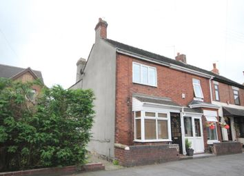 Thumbnail 2 bed end terrace house to rent in Uttoxeter Road, Blythe Bridge, Stoke-On-Trent