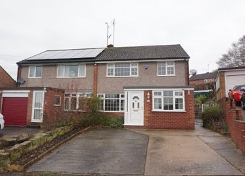 Thumbnail 3 bed semi-detached house to rent in Fishponds Close, Wingerworth, Chesterfield