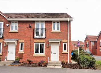 Thumbnail 3 bedroom end terrace house for sale in Ladybower Way, Kingswood, Hull